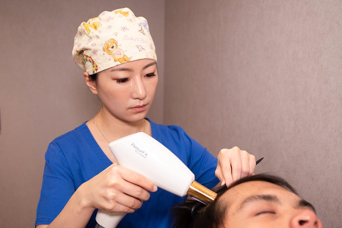 FUE植髮手術06